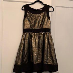 Beautiful gold and black dress
